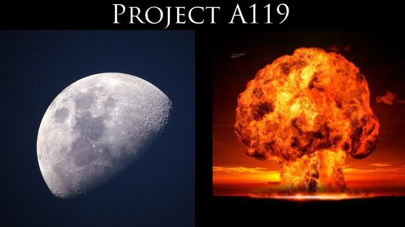 Hé lộ kế hoạch nổ bom hạt nhân trên Mặt Trăng của Mỹ