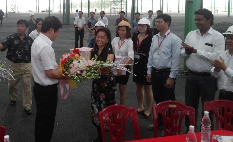 Đoàn công tác Bộ Công thương thăm nhà máy Number One Hà Nam