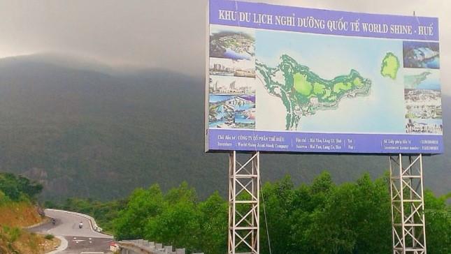 Chiều tối 26/11, tỉnh Thừa Thiên Huế và nhà đầu tư thống nhất dừng dự án này tại núi Hải Vân