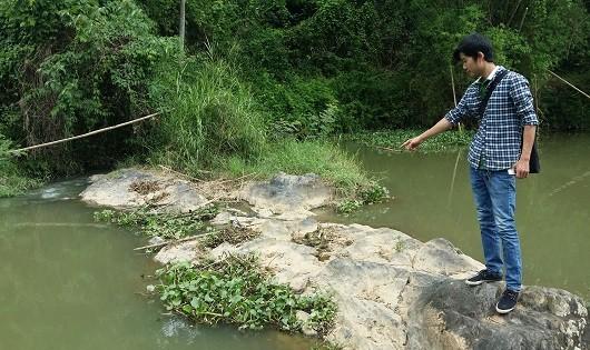 Suối Tân Trung, nơi xảy ra vụ việc