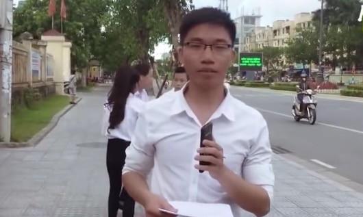 Công an TT-Huế điều tra về clip chế giễu kỳ thi THPT Quốc gia