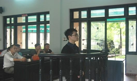 Vũ Việt Dũng tại phiên tòa