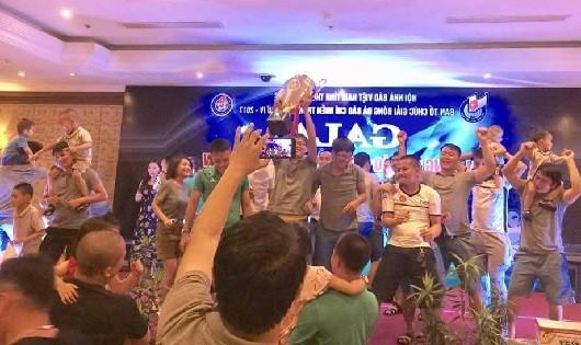 Bế mạc Giải bóng đá báo chí miền Trung lần 4 năm 2017