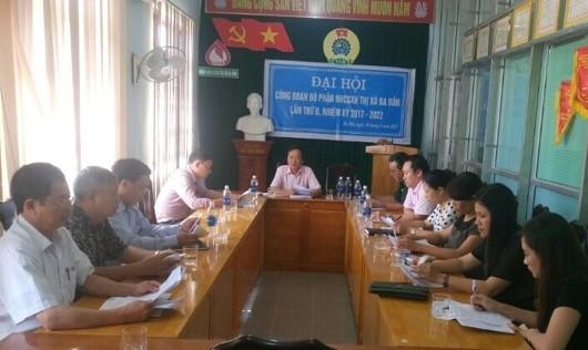 Ngân hàng CSXH thị xã Ba Đồn, triển khai dịch vụ tin nhắn đến khách hàng