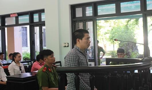 Bị cáo Võ Văn Thịnh tại phiên tòa sơ thẩm