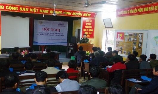 Tuyên truyền về phòng chống thiên tai cho ngư dân tại Thừa Thiên - Huế