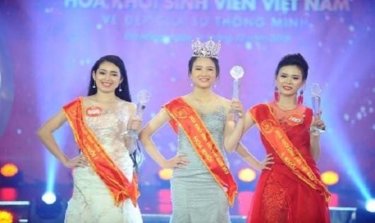 Nguyễn Thị Lan Phương - SV ĐH Luật (thuộc ĐH Huế) đăng quang Hoa khôi Sinh viên Việt Nam 2018