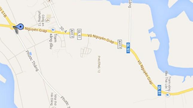 Tuyến đường Võ Nguyên Giáp ở Bà Rịa - Vũng Tàu.