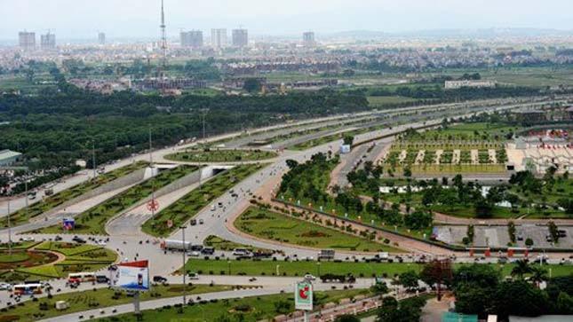 Huyện Từ Liêm nằm ở điểm khởi đầu của Đại lộ Thăng Long. Ảnh: HH.