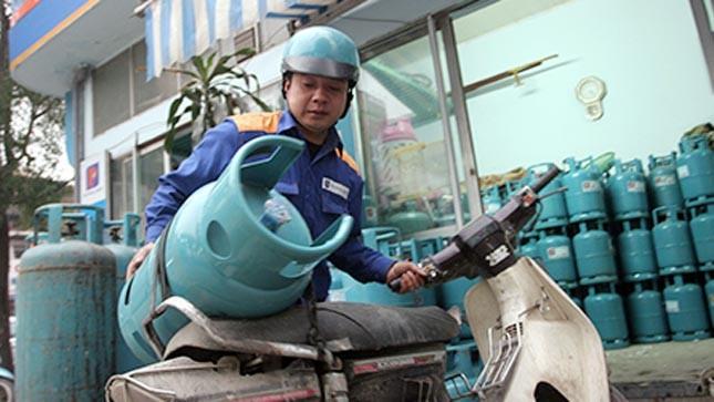 Từ 1/12, giá gas tăng 80.000 đồng/bình 12 kg