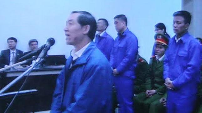 Dương Chí Dũng nói lời sau cùng trước tòa.