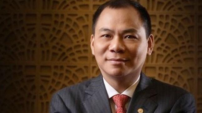 Ông Phạm Nhật Vượng vẫn là đại diện duy nhất của Việt Nam trong danh sách tỷ phú. Ông có vợ và 3 con. Ảnh: Forbes