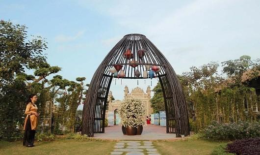 Khu du lịch sinh thái Nắng Sông Hồng.