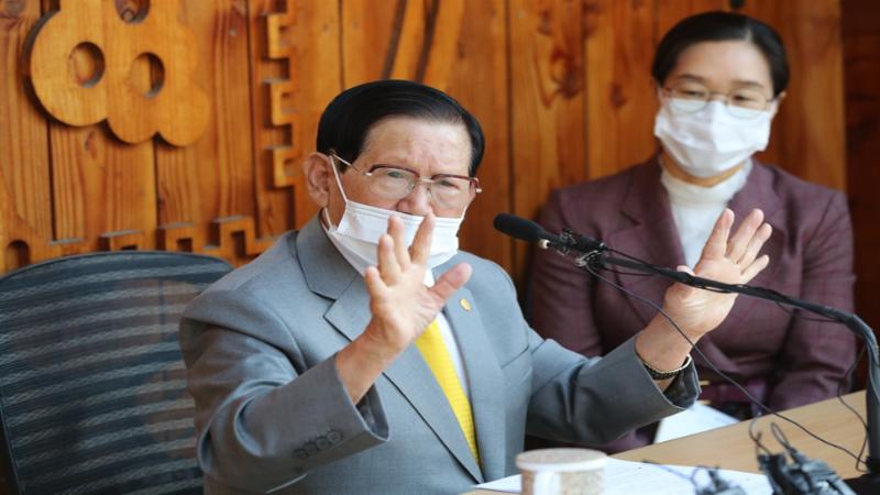 Tân Thiên Địa hỗ trợ 12 tỷ won, định lập trung tâm điều trị người mắc Covid-19