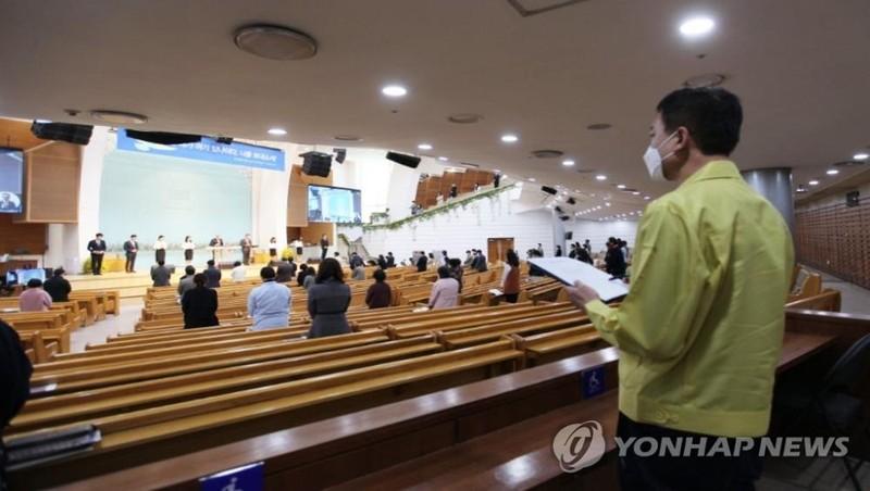 Hàng nghìn nhà thờ Hàn Quốc có thể bị phạt do không tuân quy định phòng dịch Covid-19?