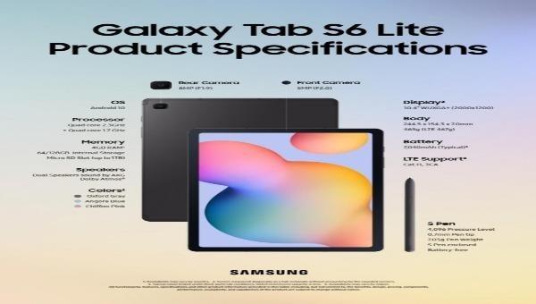 Samsung Electronics ra mắt máy tính bảng Galaxy Tab S6 Lite với mức giá tương tự Iphone SE của Apple