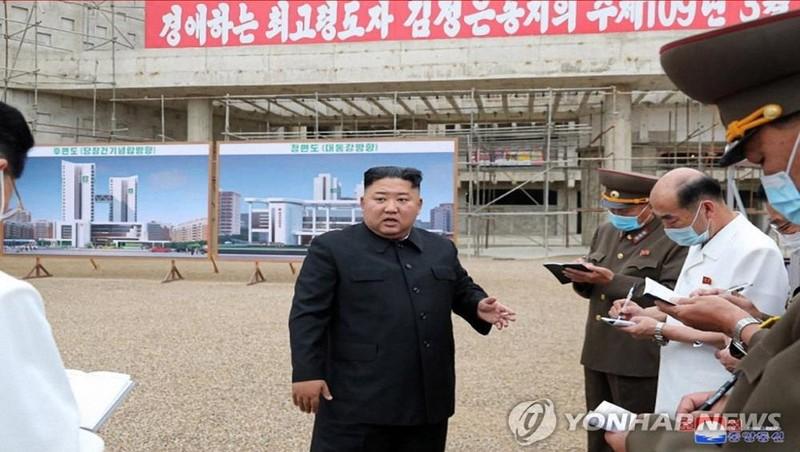 Nhà lãnh đạo Triều Tiên Kim Jong-un khiển trách quan chức thi công bệnh viện Bình Nhưỡng