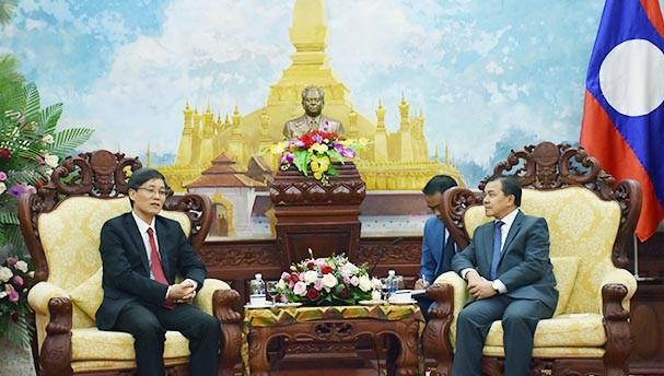 Bộ Tư pháp Việt Nam chúc mừng kỷ niệm 45 năm Quốc Khánh CHDCND Lào