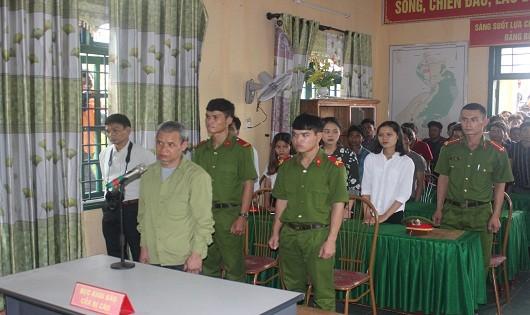 Bị cáo Hồ Văn Lua tại tòa