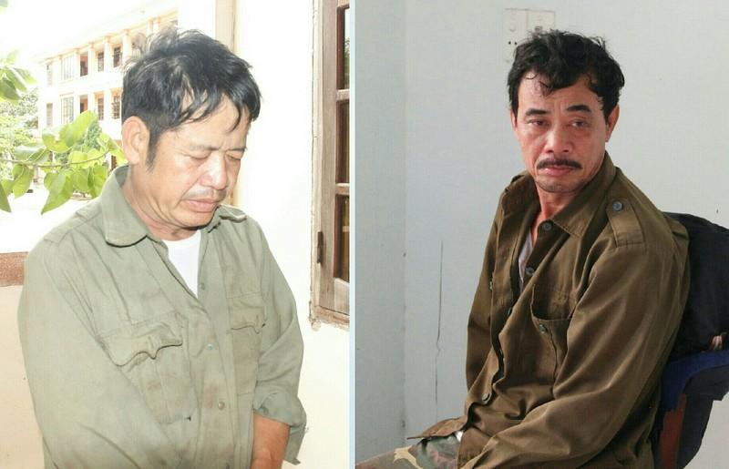Đối tượng Trần Hòa Tam và Nguyễn Văn Vinh tại cơ quan điều tra
