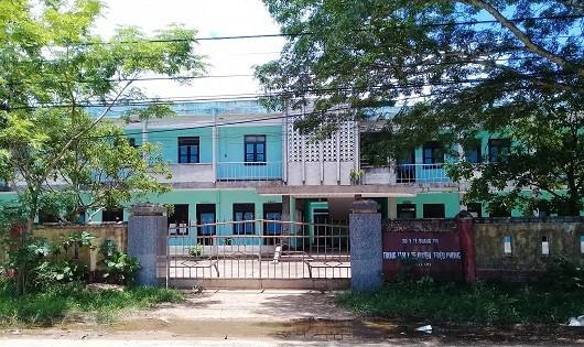 Trung tâm Y tế huyện Triệu Phong, nơi xảy ra sự việc