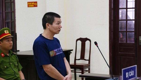 Lê Sỹ Dũng tại phiên tòa sơ thẩm