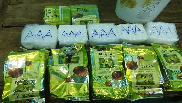 Các gói ma túy trôi dạt vào bờ biển tại Quảng Trị có tổng trọng lượng 7kg