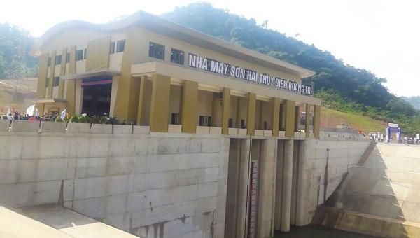 Thêm một nhà máy thủy điện trên sông Đakrông đi vào vận hành