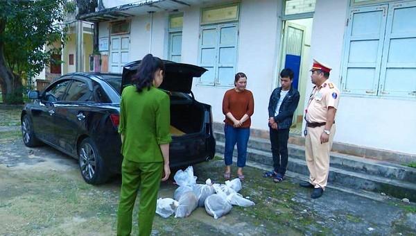 : 9 cá thể tê tê Java được giấu kín trong các ba lô, túi xách tìm thấy trên xe ô tô