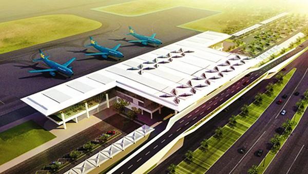 Phối cảnh Cảng hàng không Quảng Trị (ảnh: Báo Giao Thông)