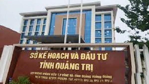 Sở Kế hoạch và Đầu tư tỉnh Quảng Trị đã có lãnh đạo cao nhất.