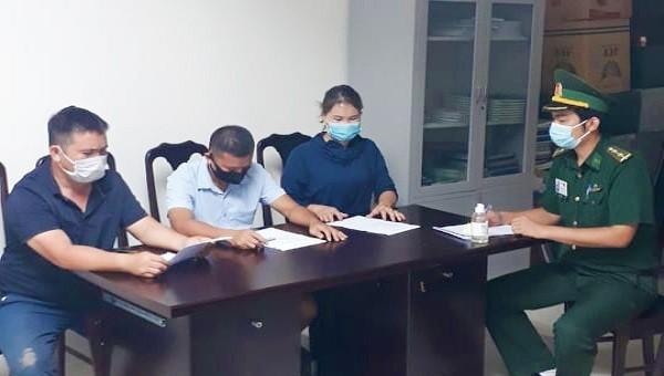 3 đối tượng xuất cảnh trái phép sang Lào đã bị cơ quan chức năng xử phạt hành chính 4 triệu đồng/người