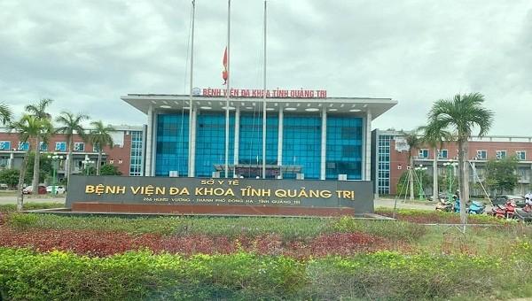 Bà H từng vào điều trị ở khu nhà G, Bệnh viện Đa khoa tỉnh Quảng Trị