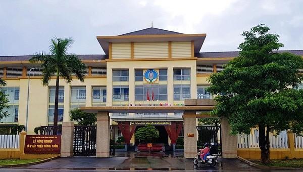 Sở NN&PTNT tỉnh Quảng Trị