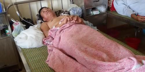 Ông Minh đang điều trị tại bệnh viện