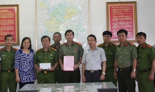 Thành Ủy Hà Tĩnh khen ngợi lực lượng CA phá án nhanh vụ nữ giám thị bị giết