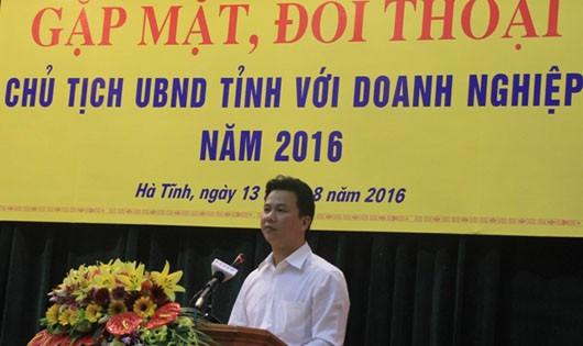 Vị chủ tịch tỉnh trẻ nhất nước đối thoại với doanh nghiệp
