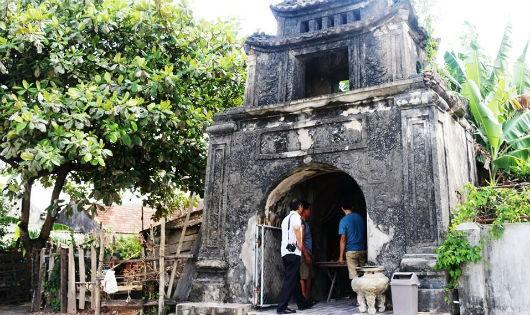 Phát hiện Văn Miếu cổ đồ sộ ở Hà Tĩnh