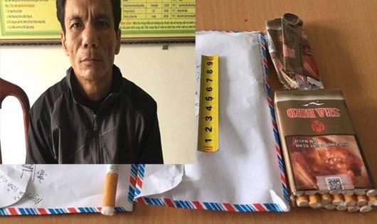 Hà Tĩnh: Bắt đối tượng nhét heroin vào đầu lọc thuốc lá để đưa đi bán