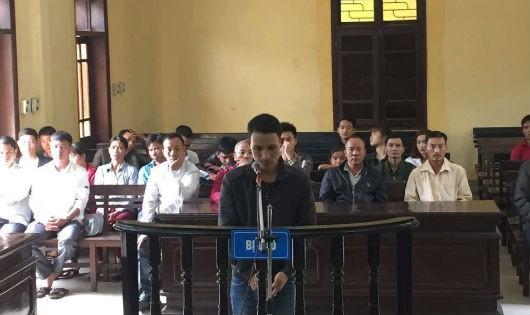 Bị cáo Trần Văn Lợi tại phiên tòa xét xử