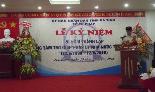 20 năm vượt thách thức của Trung tâm trợ giúp pháp lý nhà nước tỉnh Hà Tĩnh