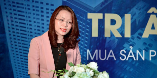 Bà Hương Trần Kiều Dung, Tổng giám đốc Tập đoàn FLC