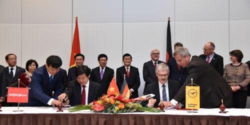 Vietjet ký kết hợp đồng kỹ thuật với Lufthansa Technik AG (Đức)