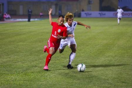 Xác định 2 đội vào chung kết Giải bóng đá Toyota khu vực sông Mê Kông 2015