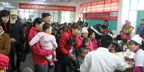 1400 trẻ nhỏ được khám sàng lọc bệnh tim miễn phí tại Quảng Bình