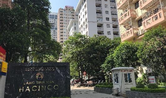 Làng sinh viên Hacinco ở địa chỉ số 99, Ngụy Như Kon Tum, phường Nhân Chính, quận Thanh Xuân, Hà Nội