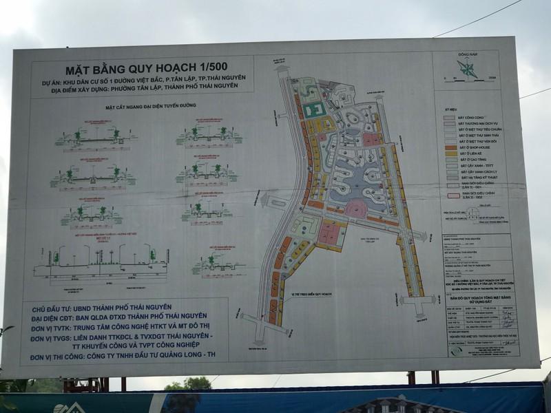 Thái Nguyên: UBND TP Thái Nguyên nói gì về việc bán đấu giá đất ở Dự án khu dân cư số 1