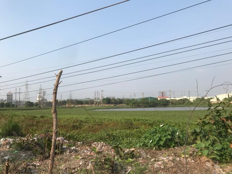 Khu đất chuẩn bị giải phóng mặt bằng để đầu tư xây dựng Khu đô thị Việt Hòa - Thanh Bình