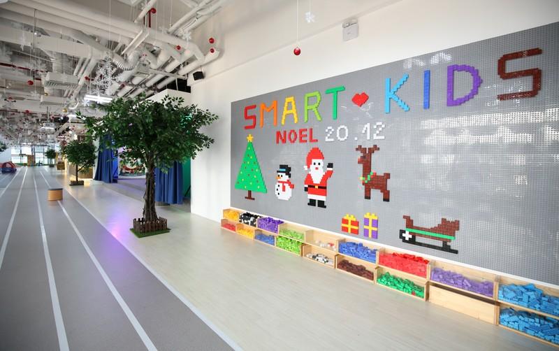 Smart Kids Playground địa điểm lý tưởng nhất cho trẻ em chơi Noel