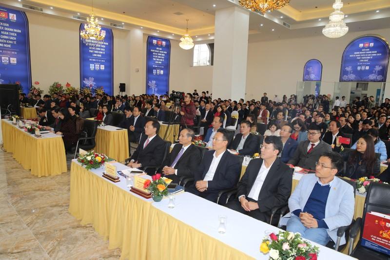 Doanh nhân Bắc Ninh tổ chức diễn đàn hiến kế phát triển kinh tế làng nghề